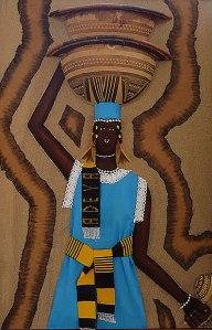 Black Arts - painting on canvas